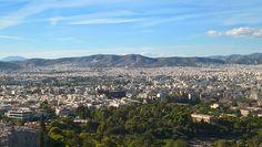 Akropol - vaade tasus ronimise vaeva