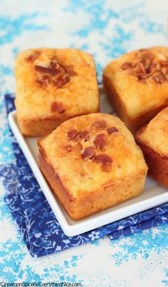 Bacon Cheese Corn Muffins