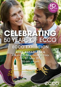 Join us at ECCO and our 50th celebration !