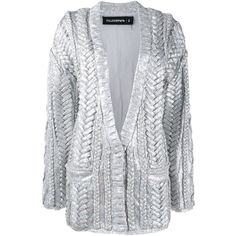 Filles A Papa Sequinned Cardigan (£650) ❤ liked on Polyvore ...