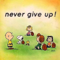 'never give up..... <3 CB and Snoopy #MultipleSclerosisAwareness #MSorange #CureMS #msawareness'
