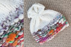 NEWBORN SCRUNCHY BEANIE hat  photography prop  by adorableprops, $34.00