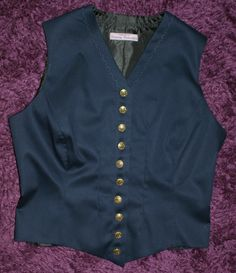This is the waistcoat for part of the same Dr Who photo shoot.