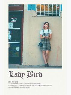"""lady bird movie - "" Poster by papasderongzfj | Redbubble"