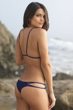 ACACIA Swimwear 2014 - Maui Bikini Bottom / Indigo - $101. Mom enough lol key west trip in March!