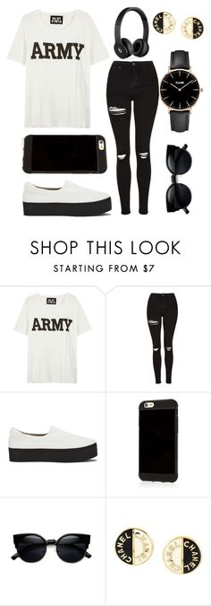 """Untitled #16"" by smile777777 ❤ liked on Polyvore featuring NLST, Topshop, Opening Ceremony, Beats by Dr. Dre, Chanel and CLUSE"