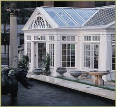 Simple conservatory by Tanglewood.
