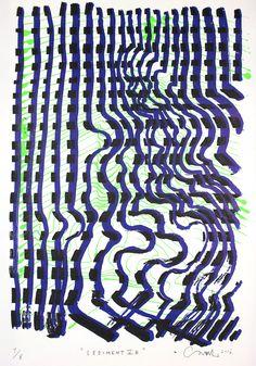 Carl Krull – Sediment V B. Serigrafi, 50 x 70cm. Oplag: 8. Pris: 2.400 kr.