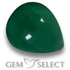 GemSelect features this natural Agate from India. This Green Agate weighs 7.5ct and measures 14.2 x 11.7mm in size. More Pear Cabochon Agate is available on gemselect.com #birthstones #healing #jewelrystone #loosegemstones #buygems #gemstonelover #naturalgemstone #coloredgemstones #gemstones #gem #gems #gemselect #sale #shopping #gemshopping #naturalagate #agate #greenagate #peargem #peargems #greengem #green