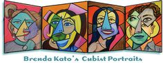 Than The Cubist Portraits Below Painted Famous Picasso