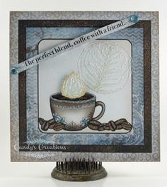 Coffee with a Friend Card by Candy S. - Cards and Paper Crafts at Splitcoaststampers