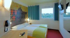 Zweibettzimmer im B&B Hotel Wiesbaden