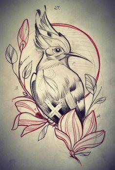 Freulein fux japanese tattoos, tattoo drawings ve tattoo sketches. Tattoo Sketches, Tattoo Drawings, Art Sketches, Bird Drawings, Animal Drawings, Rite De Passage, Tattoo Painting, Vogel Tattoo, Desenho Tattoo