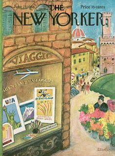 The New Yorker - Saturday, June 22, 1968 - Issue # 2262 - Vol. 44 - N° 18 - Cover by : Beatrice Szanton