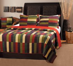 Jewel Royal Jubilee Multicolor Quilt Bedspread Sham Throw Collection Set #HomeFashion #Traditional