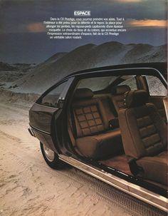 1979 Citroën CX Prestige French brochure Page 1 Manx, Automobile, Citroen Car, Safari, Retro Cars, Car Humor, Car Photos, The Prestige, Amazing Cars
