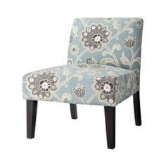 Avington Upholstered Slipper Chair - Blue Quick Information $110 target