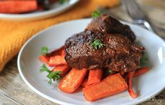Balsamic Braised Beef Short Ribs Recipe along with dozens of other good pales crockpot recipes paleo crockpot ribs Rib Recipes, Paleo Recipes, Slow Cooker Recipes, Crockpot Recipes, Cooking Recipes, Easy Recipes, Paleo Meals, Vegetarian Dinners, Steak Recipes