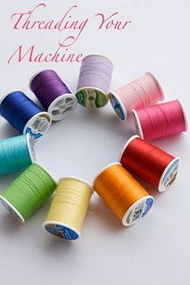 perfect for someone like me who cant thread a bobbin...  A collection of basic sewing tutorials for the beginner sewer.... and for those who dont sew often!