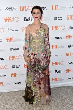 Rachel Weisz wore a Spring 2016 gown at the 'Youth' special presentation during the 2015 Toronto International Film Festival on September 12th 2015.