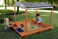 Caixas de areia... para crianças!!!!