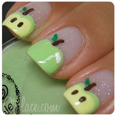 Green Apple nails