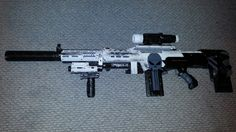 This is my custom Nerf Longshot.