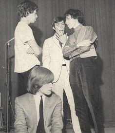 Mick Jagger, Brian Jones, Charlie Watts, and Bill Wyman