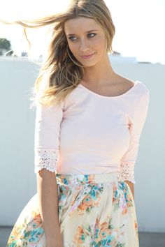 Fancy - Sabo Skirt Jasmine Top
