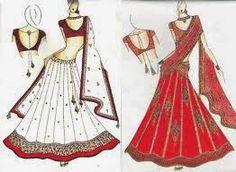 gaba collection....: lengha designes...