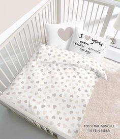 2 tlg Kinder Baby Bettwäsche 100x135 cm Bärchen Teddybär orange Baumwolle B-Ware