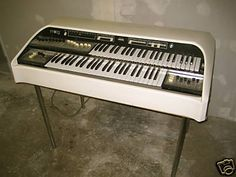 """Moog CDX """"White Elephant"""" ~ Moog organ with built in synthesizer ~ 70ies"""