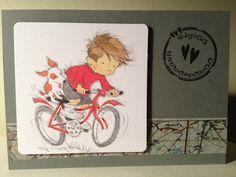 Valentain's Day card. Precolored Art Pad: Lily of the Valley.  / Ystävänpäiväkortti.