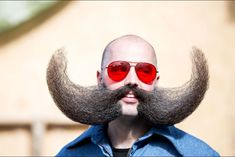 Photos from the 2015 World Beard and Moustache Championships, the fashion week of facial hair. Beards And Mustaches, Moustaches, Full Beard, Epic Beard, Beard Burn, Beard Competition, New Beard Style, Beard Styles, Hair Styles
