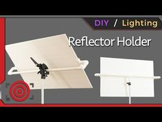 DIY Photography Studio Reflector Holder and One Light Portrait Lighting Tutorial - ISO 1200 Magazine | Photography Video blog for photographers