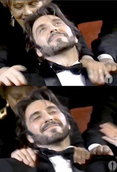 "Reaction of Al Pacino to win the Oscar for best actor for the film ""Scent of a Woman"" #TheOscar"