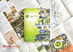 Client: GrowNYC, Project: Annual Report