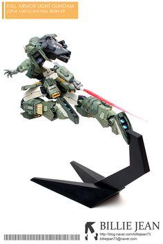 [Zlpla] Full Armor Light Gundam Resin Kit - Painted Build Modeled by Gundam Wing, Gundam Art, Gunpla Custom, Custom Gundam, Strike Gundam, Gundam Mobile Suit, Facebook Features, Japanese Toys, Msv