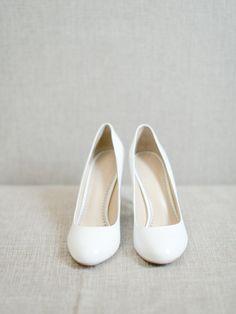 White wedding shoes | fabmood.com