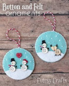 Image result for how to make a cute felt snowman diy