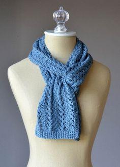 Free Universal Yarn Pattern : Lace Scarf