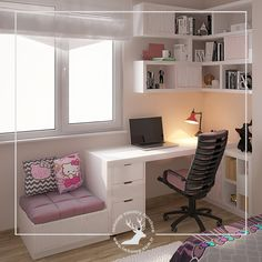 Kids Bunk Beds, Bedroom Wardrobe, Ikea Ideas, Home Office Design, Kids Bedroom, Corner Desk, Small Rooms, Bedroom Decor, Kid Bedrooms