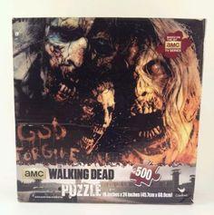 The Walking Dead Zombie Jigsaw Puzzle 500 Pc 18 x 24 God Forgive US null http://www.amazon.com/dp/B00IR6NQKK/ref=cm_sw_r_pi_dp_WAjYtb05AP8ZFNM6