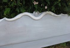 Headboard Full Size Bed Vintage French Provincial Poppy