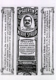 Images from the History of Medicine (NLM): Dr. Guertin's nerve syrup - early 1900s