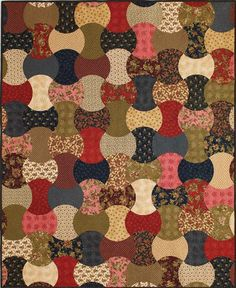 Barbara Brackman's MATERIAL CULTURE: Ladies's Album in an Apple Core in Fons Porter's Quilting Quickly, Summer 2014