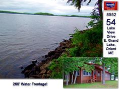 Orient Maine / East Grand Lake Home For Sale 207.532.6573 info@mooersrealty.com