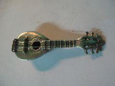 S 11.20g Rare Vintage GREEK s Art Miniature BOUZOUKI Instrument in 925 Sterling SILVER by spyrinex06 on Etsy