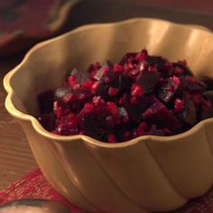 Roasted Beet Salad ~ forget the celery