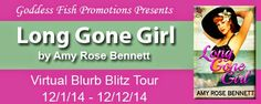 Long Gone Girl by Amy Rose Bennett, a Vintage Historical available now from Steam eReads.  Tour runs December 1 - 12, 2014 Win a $20 Amazon/BN GC!